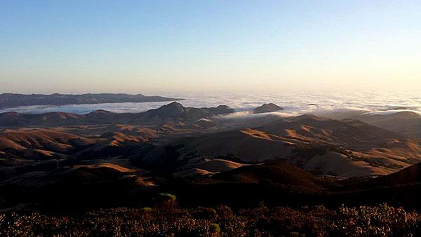 Cerro Alto after the Cuesta grade near San Luis Obispo.