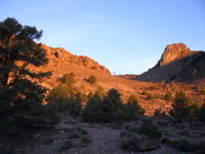 Conglomerate Mesa, photo by Tom Budlong.