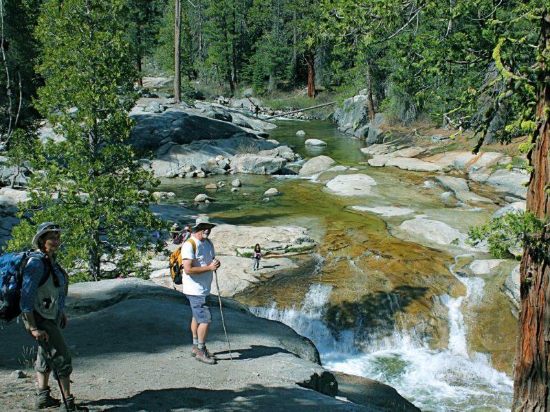 Dinkey Creek Hikers Sierra Forest