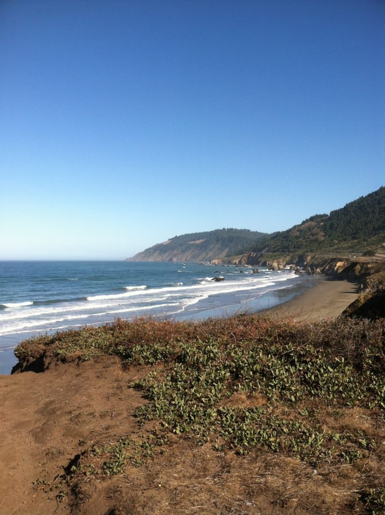 From Westport looking at the beginning of the Lost Coast. photo Dup Crosson