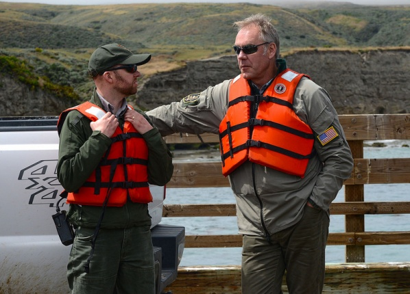 Zinke at Channel Islands Photo: Department of the Interior.