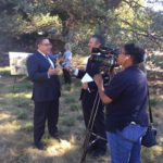 Rep. Carbajal at the CCHPA introduction event. Photo by Matt Sayles.