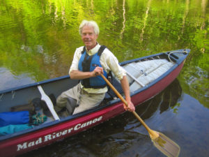 Tim Palmer on the Saco River, ME