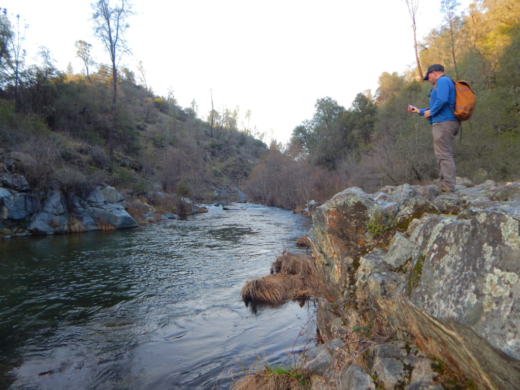Clear Creek public land user. PHOTO: Andrew Fitzpatrick.