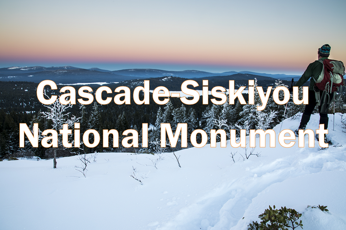 Cascade-Siskiyou National Monument. Photo courtesy of BLM.